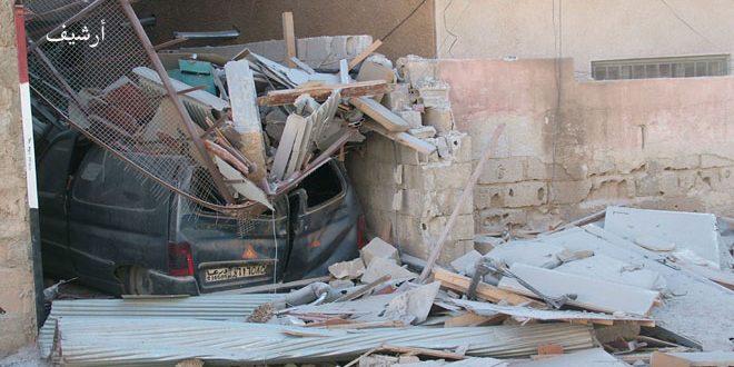 Photo of استشهاد مدني وإصابة أخرين بقذائف إرهابية بدرعا