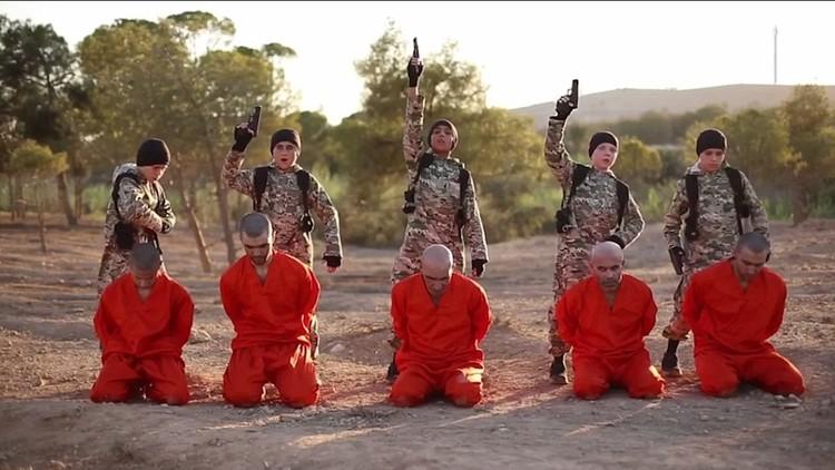 Photo of أطفال داعش يذبحون 5 أكراد