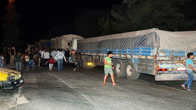 Photo of قافلة مساعدات غذائية لحلب