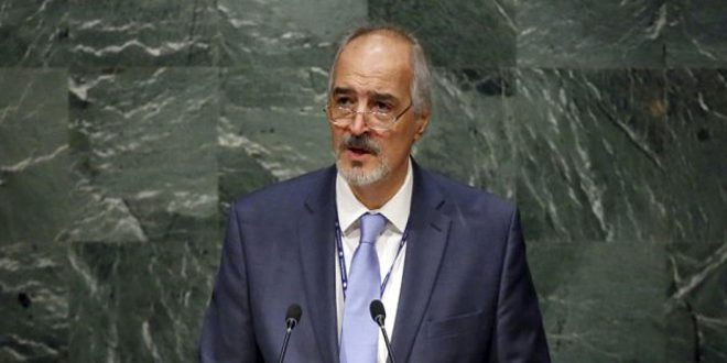Photo of Al-Jaafari: Syria will continue to fight terrorism on every inch of its territory