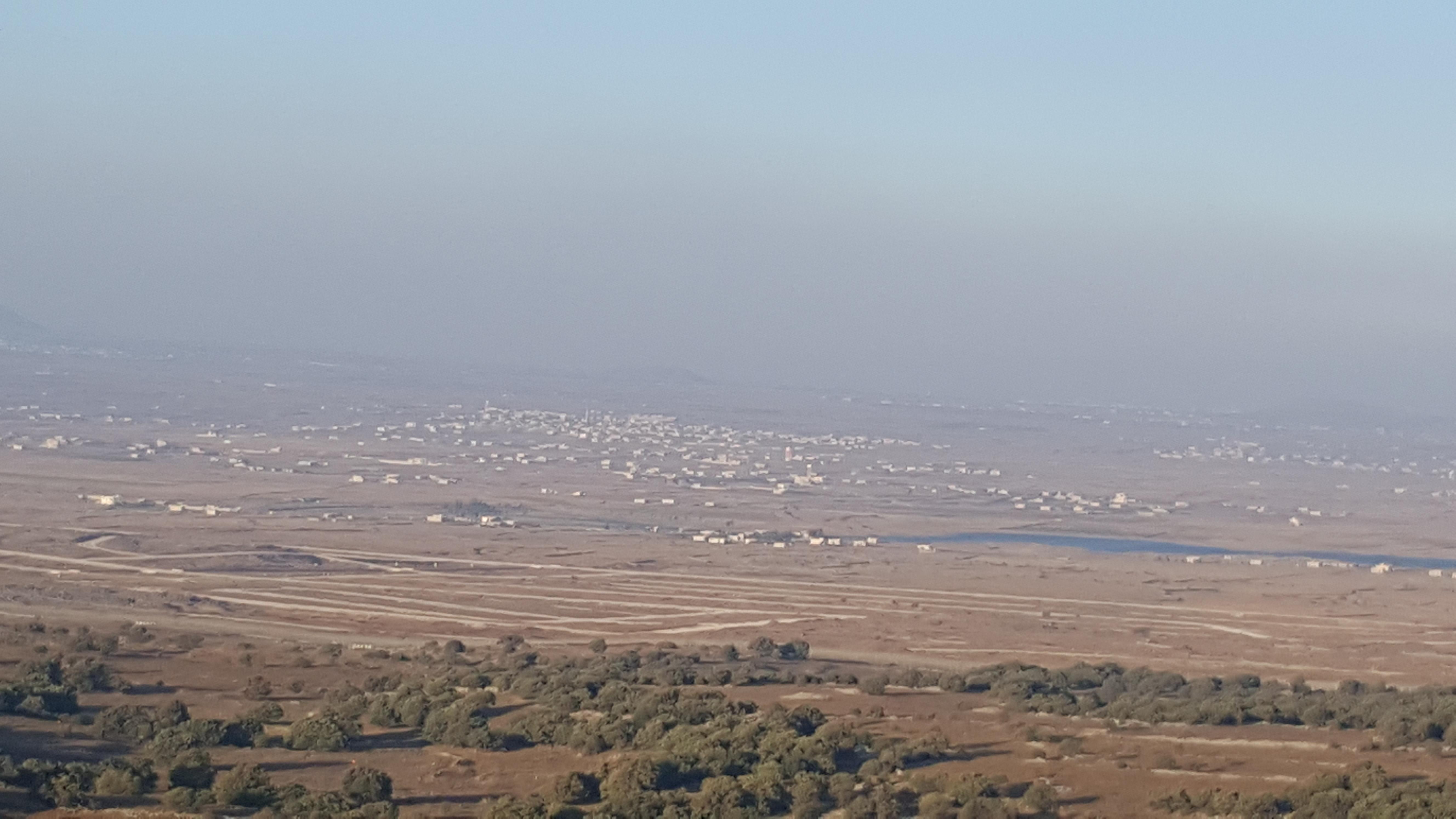 Photo of الطيران الاسرائيلي يقصف داخل الاراضي السوريه