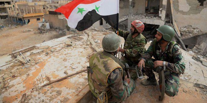 Photo of قواتنا تواصل التقدم بريف حلب