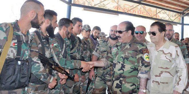 Photo of هلال يزور مواقع عسكرية بالقنيطرة