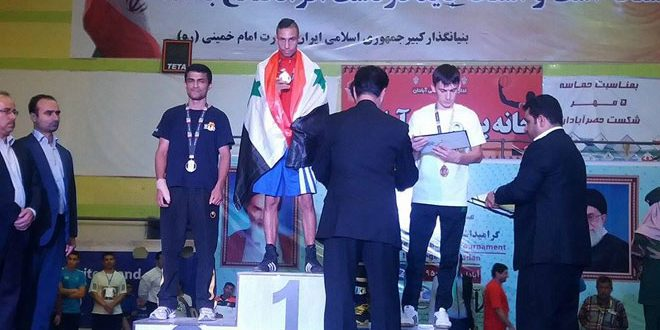 Photo of ثلاثة ذهبيات لسوريا ببطولة إيران
