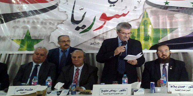 Photo of تضامن مصري مع قلب العروبة النابض سوريا