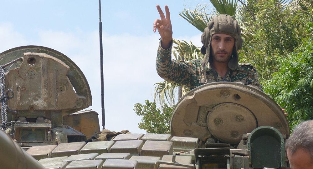 Photo of الجيش السوري يسيطر على كتيبة الدفاع الجوي بين بلدتي أبطع وداعل في ريف درعا الشمالي
