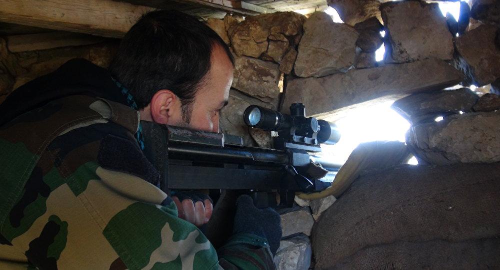 Photo of الجيش يسيطر على أماكن واسعة بكلية الفنية بحلب