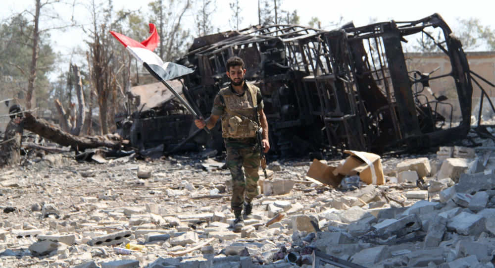 Photo of ضابط سوري: امريكا نسقت مع داعش