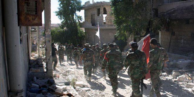 Photo of قصف مقرات إرهابية بدرعا والسويداء