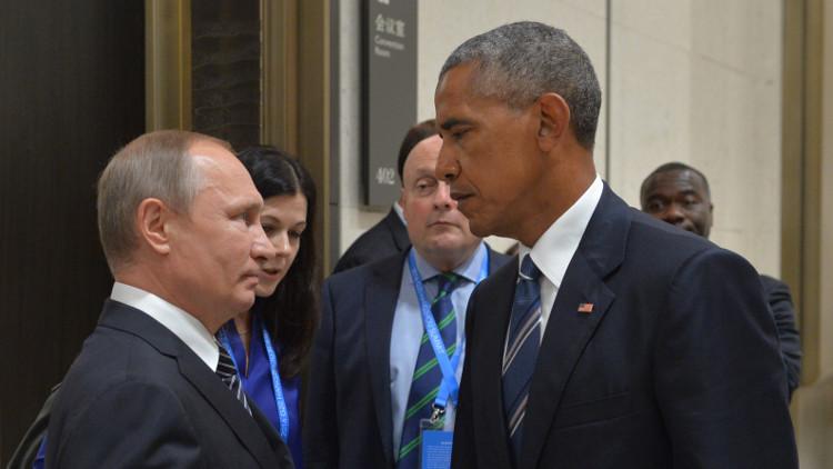 Photo of ٩٠ دقيقة بين بوتين و اوباما