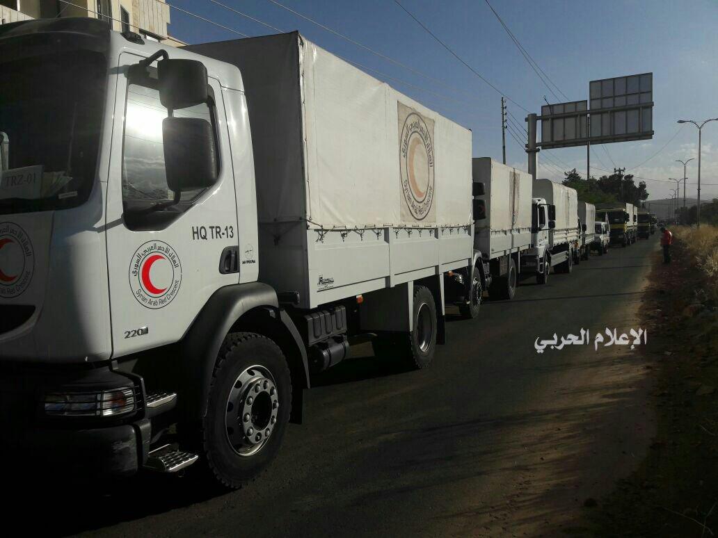 Photo of مساعدات إنسانية لـ الزبداني ومضايا.. ومثلها لكفريا والفوعة