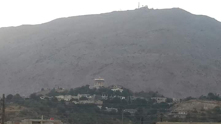 Photo of استهداف بلدة حضر بعدة قذائف هاون