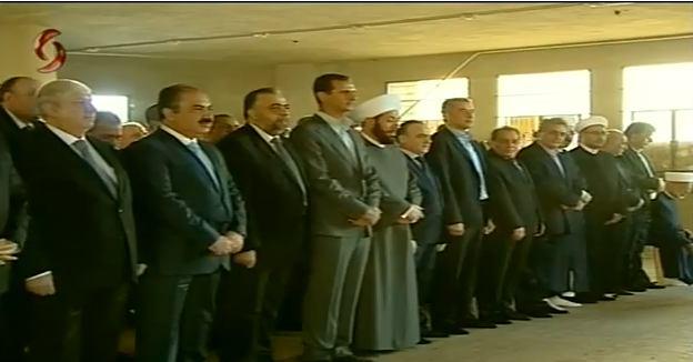 Photo of الأسد يصلي بـ داريا