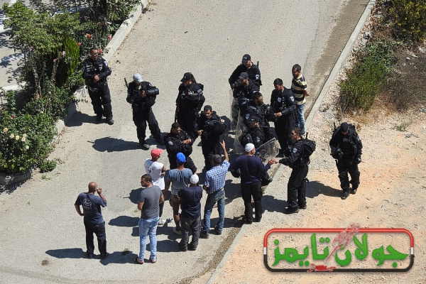 Photo of الاحتلال يهدم منزل بسام ابراهيم في مجدل شمس