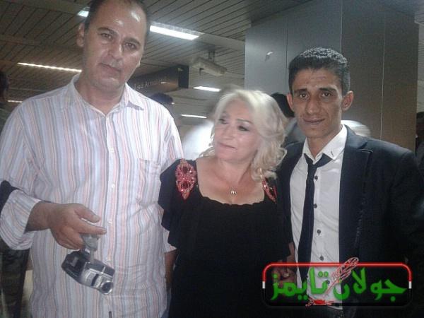 Photo of وصول العروس رحاب الولي الى مطار دمشق