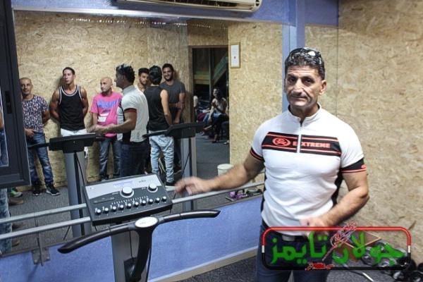 Photo of إفتتاح نادي ادم جيم للياقة البدنية في بقعاثا