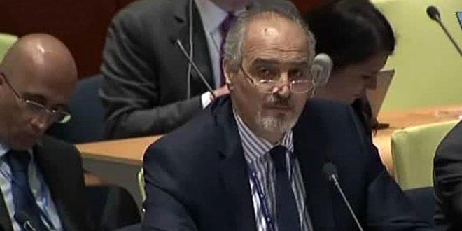 Photo of الجعفري : الامم المتحدة مهمتها الحماية من الجرائم