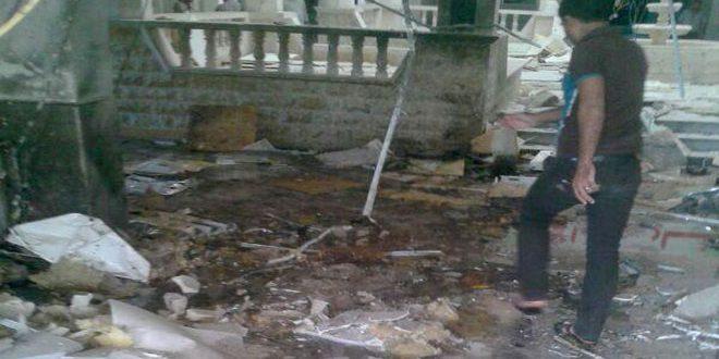 Photo of تفجيرين إرهابيين بساحة العاصي بحماة