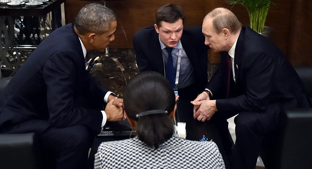 Photo of أوباما يحذر بوتين من غزو فضائي !