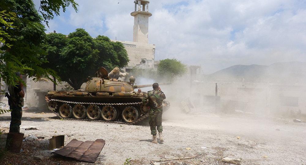 Photo of عملية عسكرية بالغوطة الغربية