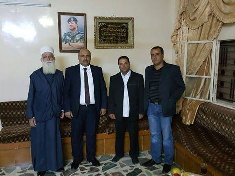 Photo of لجنة التواصل الدرزيه عرب ال 48 في لقاء هام في مدينة الازرق في الاردن