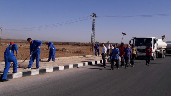 Photo of تنفيذ حملة للنظافة بخان أرنبة