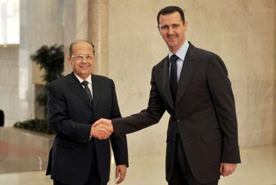 Photo of الأسد يهنئ عون
