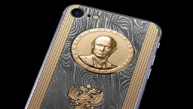 Photo of أيفون ٧ بالفولاذ الذهبي لبوتين