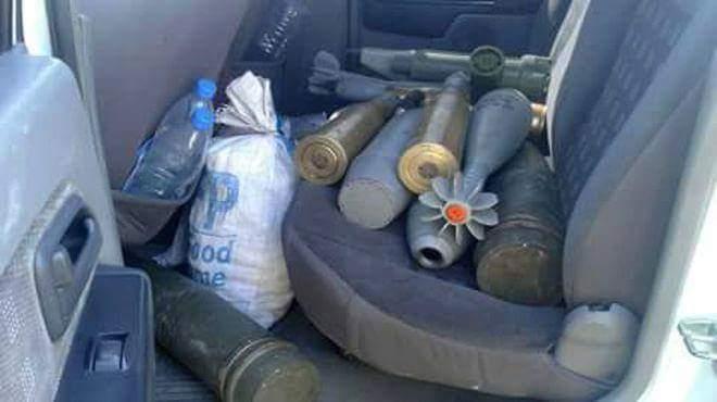 Photo of ضبط سيارة محملة بالأسلحة بريف السويداء