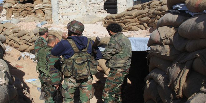 Photo of الجيش يدمر اوكار النصرة بريف درعا