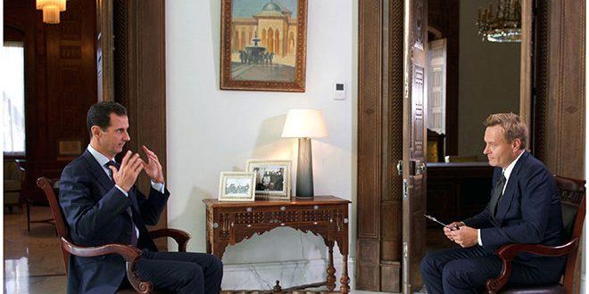 Photo of الأسد: المعارضة المعتدلة .. خرافة وغير موجودة