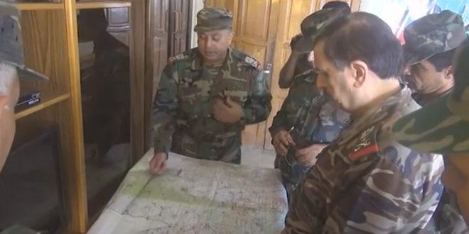 Photo of زيارة ميدانية لوزير الدفاع لقواتنا العاملة بريف اللاذقية