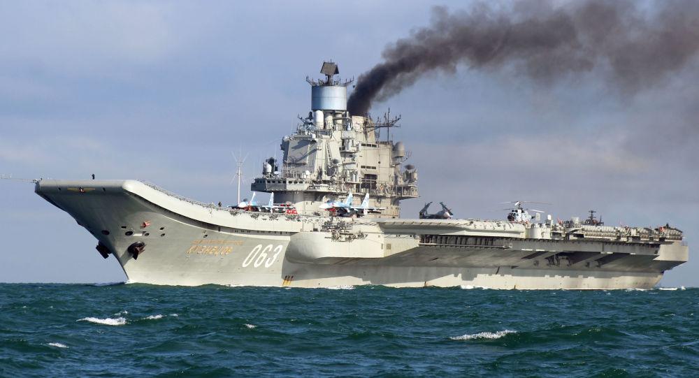 Photo of حاملة الطائرات الروسية تبداً مناوراتها قبالة السواحل السورية