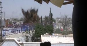 Photo of بالفيديو- تدمير نفق إرهابيي بحرستا