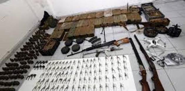 Photo of بالفيديو- اسلحة اسرائيلية بخان الشيح