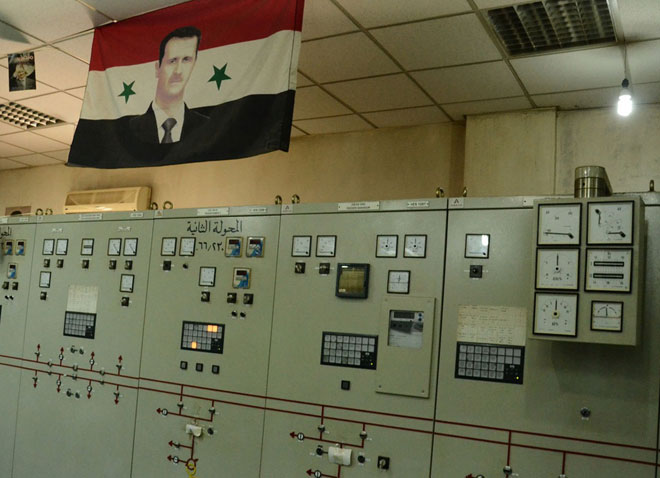 Photo of جهود مستمرة لإعادة الكهرباء لحلب