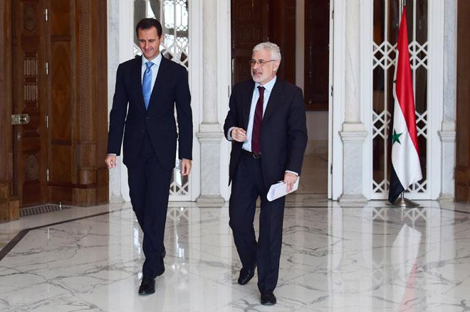Photo of الأسد: خيارنا الوحيد هو الانتصار