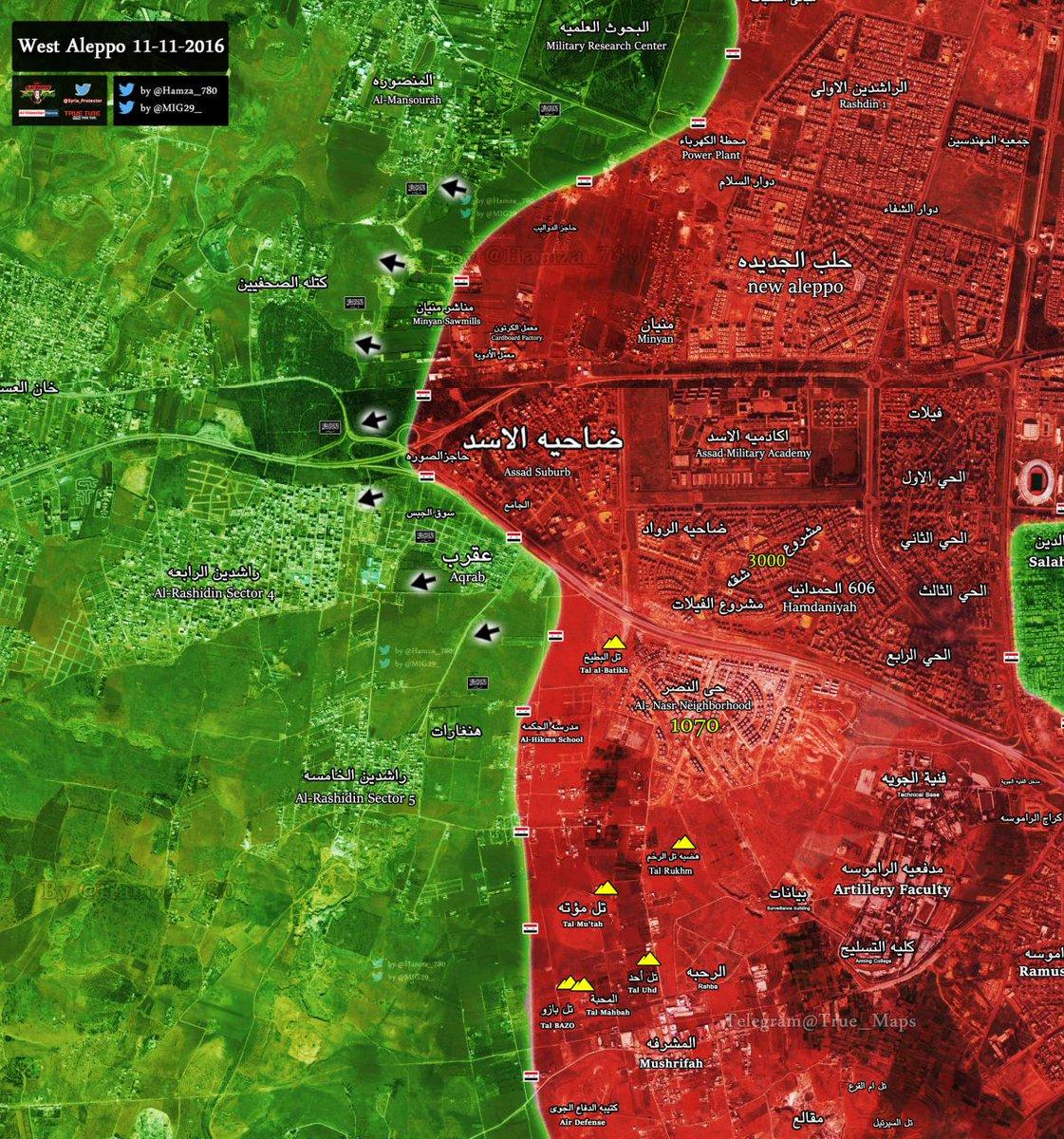 Photo of خريطة تقدم الجيش بريف حلب