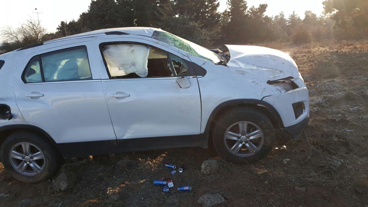 Photo of حادث سير بالقرب من الروم جنوبي بقعاثا