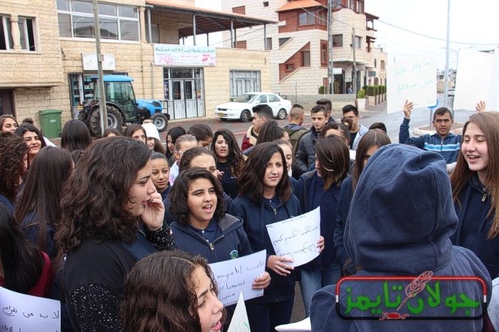 Photo of طلاب الثانوية الشاملة في بقعاثا يعلقون اضرابهم ويعودون الى المدرسة