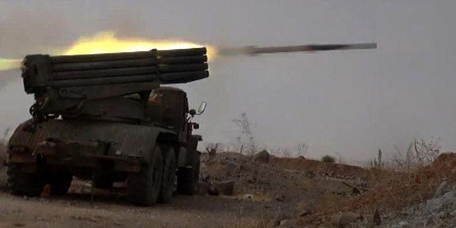 Photo of تدمير قاعدة صواريخ بدرعا