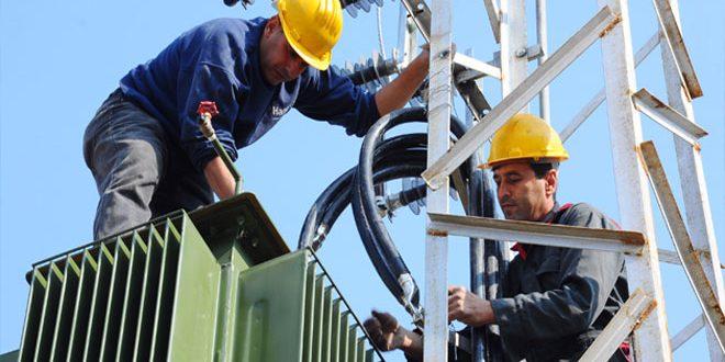 Photo of إصلاح 150 عطلاً بشبكة كهرباء السويداء