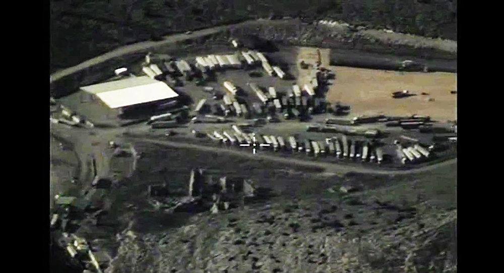 Photo of التحالف الدولي يدعي قصف صهاريج نفط تابعة لداعش
