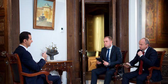 Photo of الأسد: كما حررنا تدمر سابقاً سنحررها مجدداً