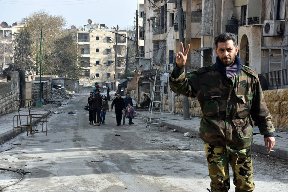 Photo of بالصور-  حيي الزبدية وصلاح الدين بمدينة حلب