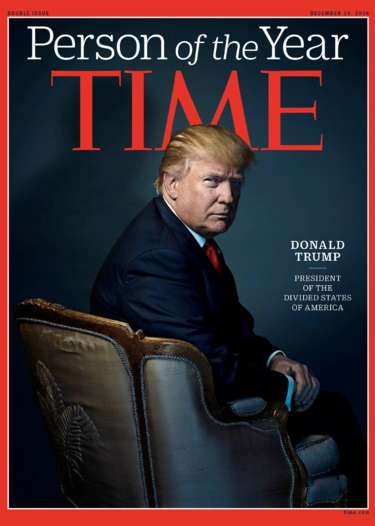 Photo of ترامب شخصية عام ٢٠١٦