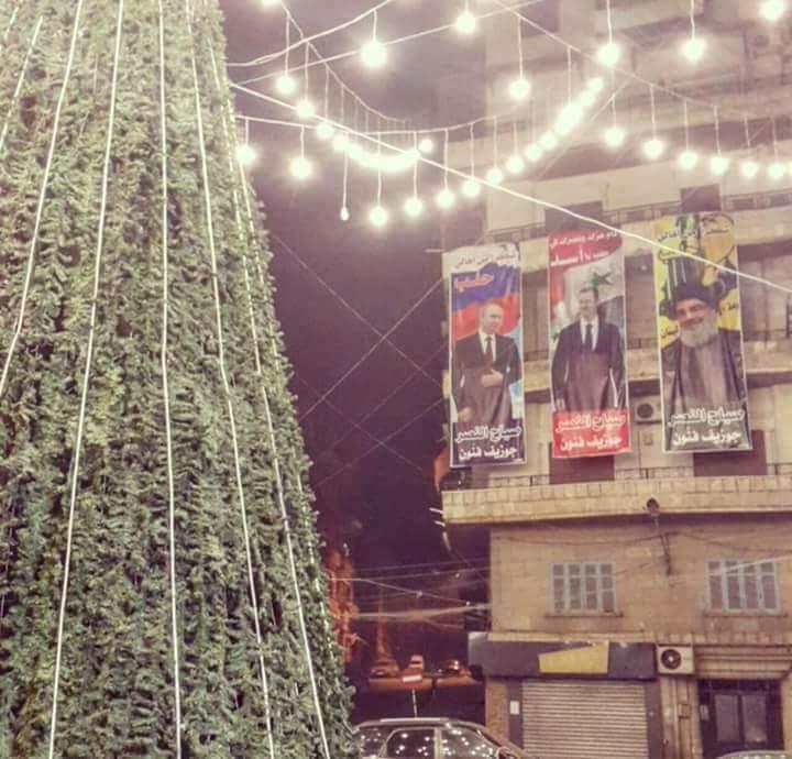Photo of حلب تحتفل بنصر ميلادها على الإرهاب