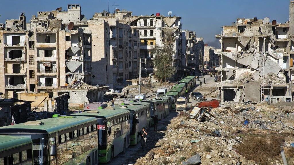 Photo of استمرار خروج الإرهابيين من حلب