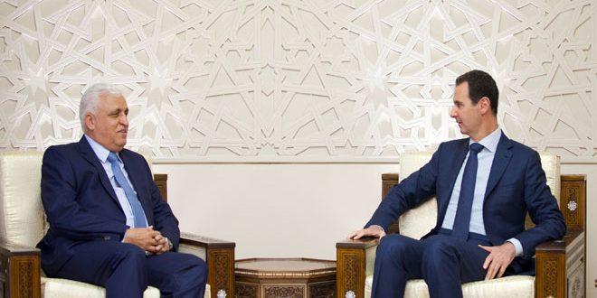 Photo of الأسد يستقبل مستشار الأمن الوطني العراقي