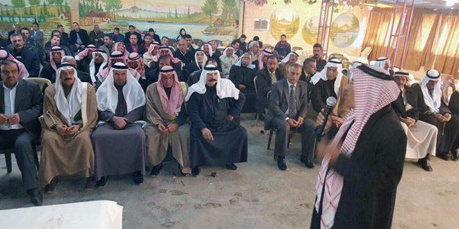Photo of عشائر الحسكة : نحن مع الجيش والقيادة